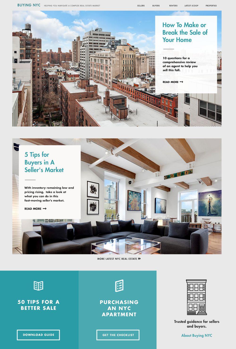 Buying NYC Homepage