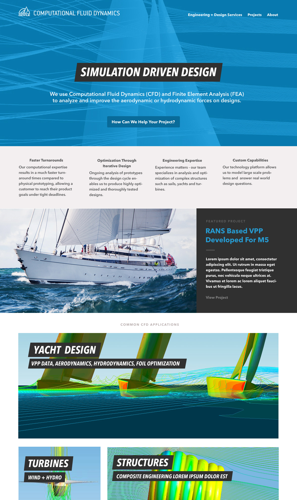 Doyle CFD Homepage