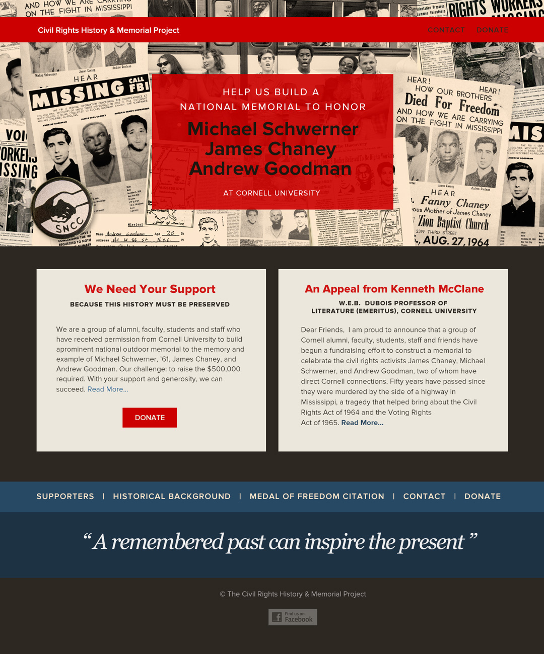 Civil Rights Memorial Project Homepage